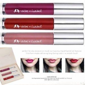 🆕💄 Liquid Lipstick Set c+i BE001
